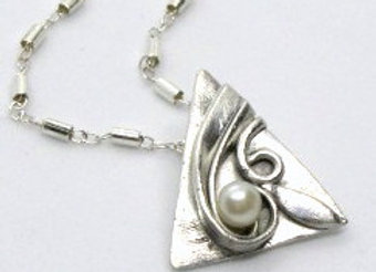Pearl in a Swirl Pendant