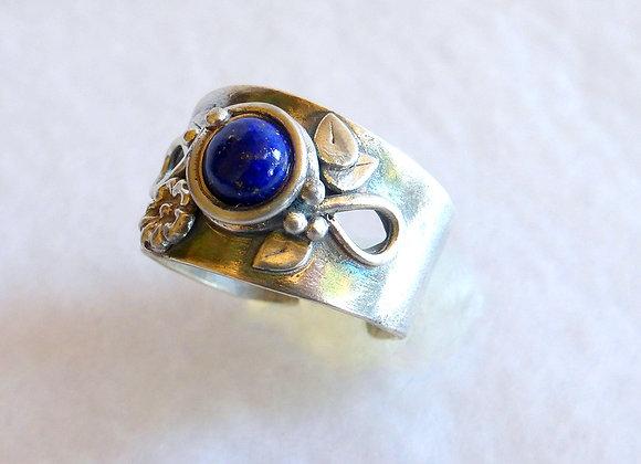 Blue Center Lapis Ring