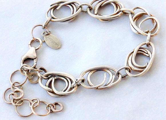 Oval Coil Bracelet
