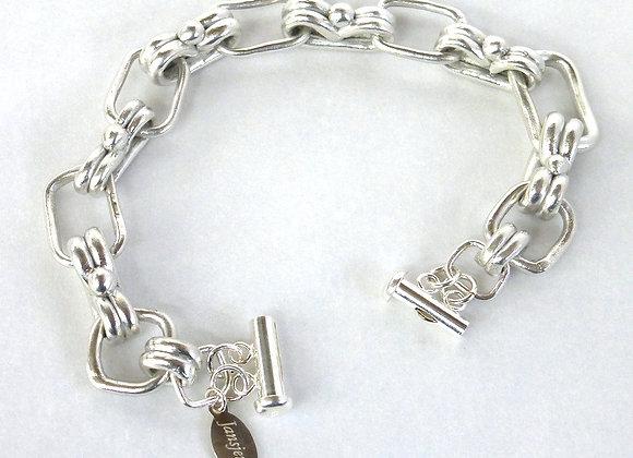 Bracelet of Handmade Links
