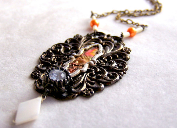 Victorian Style Vintage Jewelry Parts
