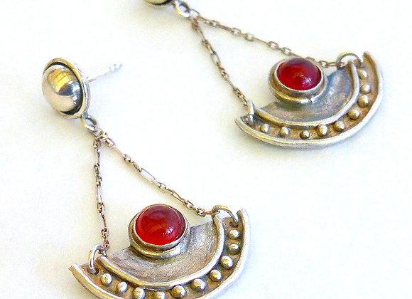Egyptian Carnelian Earrings