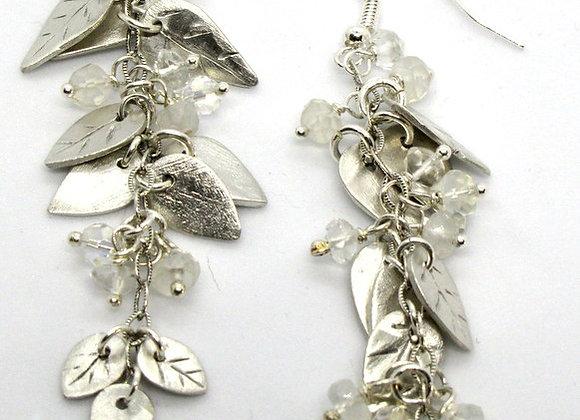 Clustered Leaves Earrings