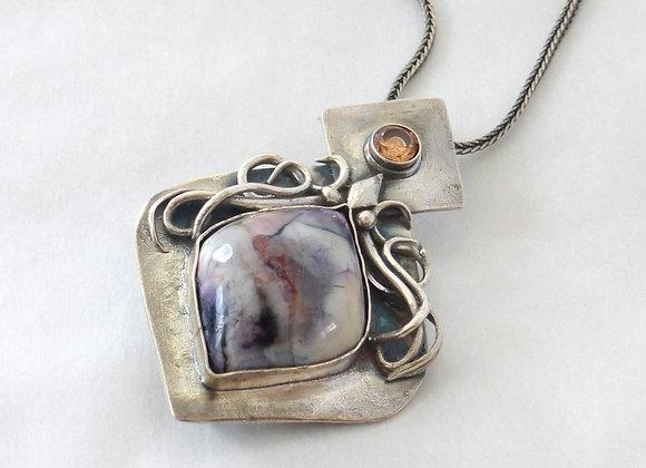 Tiffany Stone Pendant