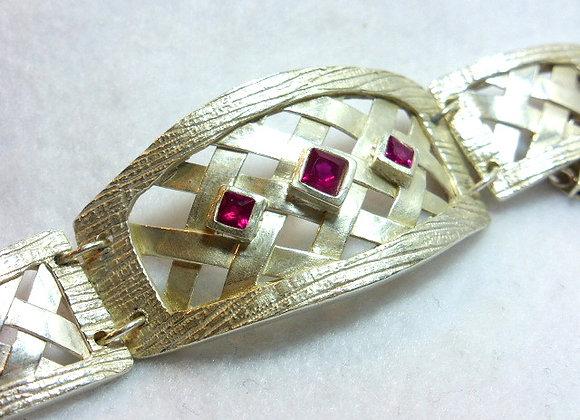 Lattice Designed Bracelet