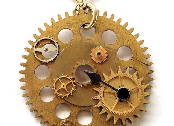 Gears in Time Pendant