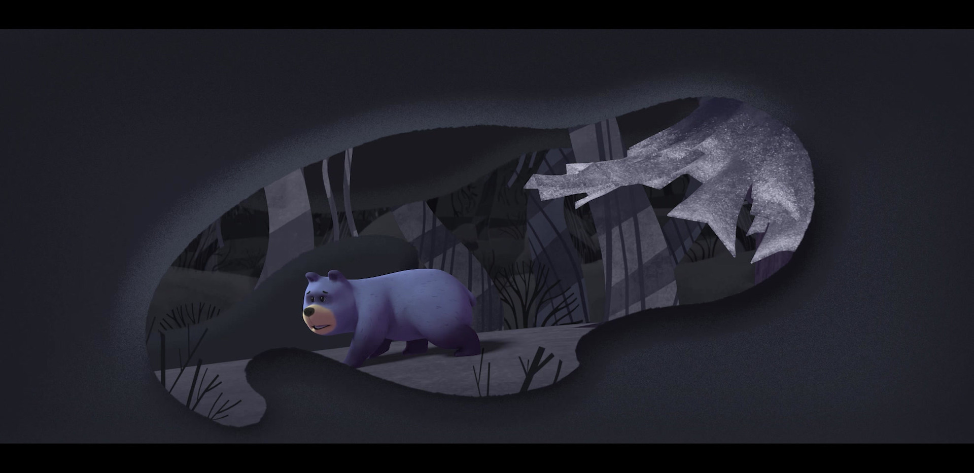 3D Bearly Animation by Hal Kujawski 2D FX by Cosimo Faeita 2D Cleanup and Color by Alison Agnew