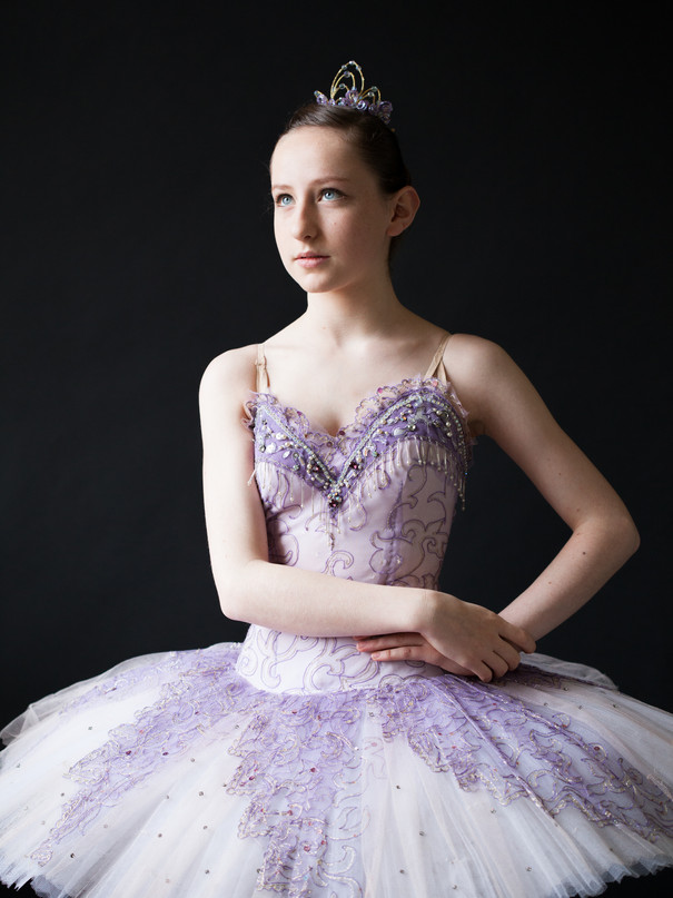 Ballerina portrait. Kate Kuzminova Photography