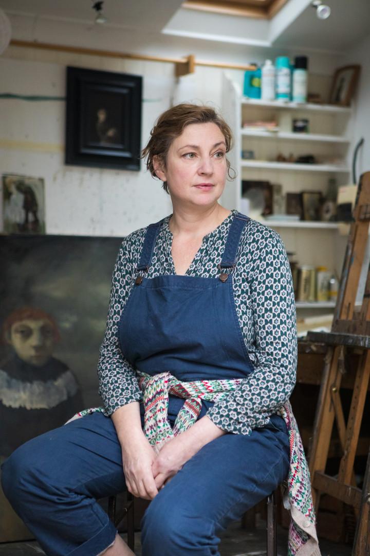 Bobbie Russon, artist.