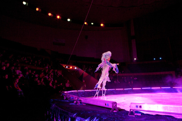 Circus on ice, Russia