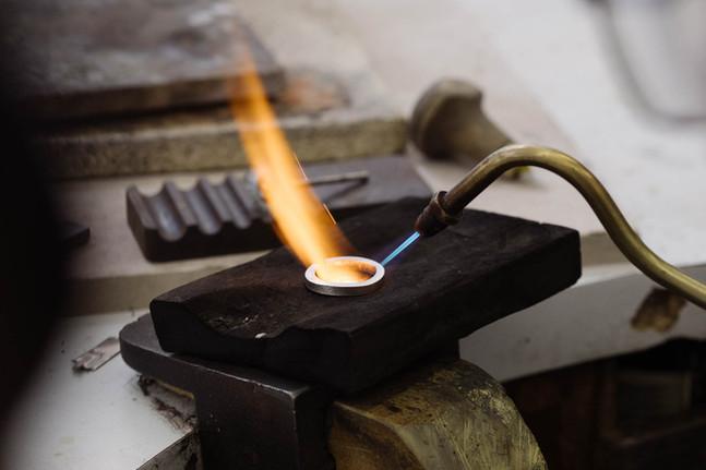 Ring making, Royal Turnbridge Wells