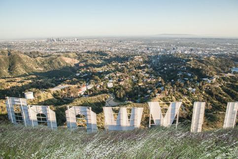 Hollywood sighn, LA