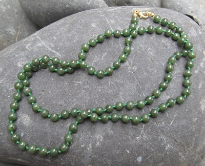 Bead Necklace 6mm