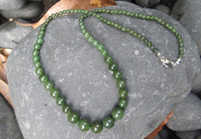 Bead Necklace Tapered BNT20