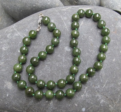 Bead Necklace 10mm