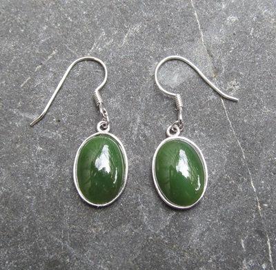 S/S Oval Earrings EL3013