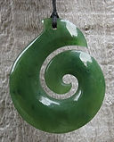 Greenstone Jade Pounamu Hook Pendants