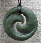 Greenstone Jade Pounamu Koru Pendants
