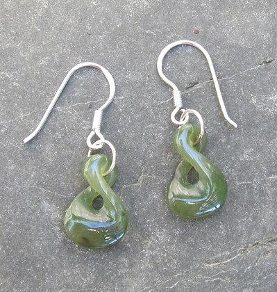 Single Twist Earrings ET3005