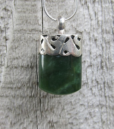 Sterling Silver & NZ Pounamu