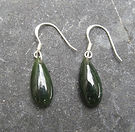 Greenstone Jade Pounamu Earrings