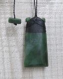 Greenstone Jade Pounamu Toki Pendants