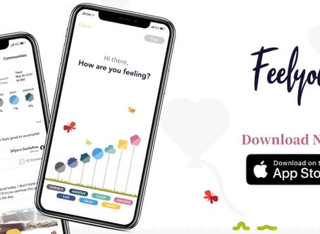 約4,000人が事前登録!感情のシェアと共感で、ウェルビーイングを高める居心地の良いSNSを目指したマインドフルネスアプリ『Feelyou』、2020年7月16日(木)iOSにて全世界同時リリース