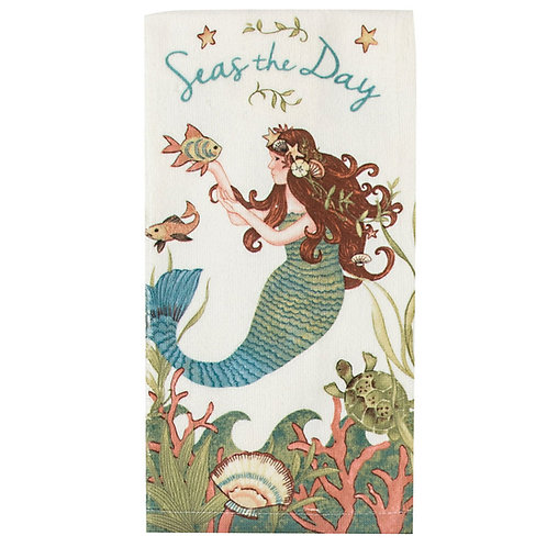 Seas the Day Terry Towel