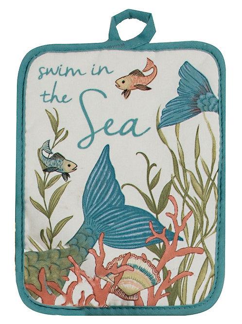 Seas the Day Pot Holder