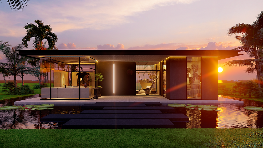 """Healing Oasis"" by B+G Design   CASACOR Miami 2020"