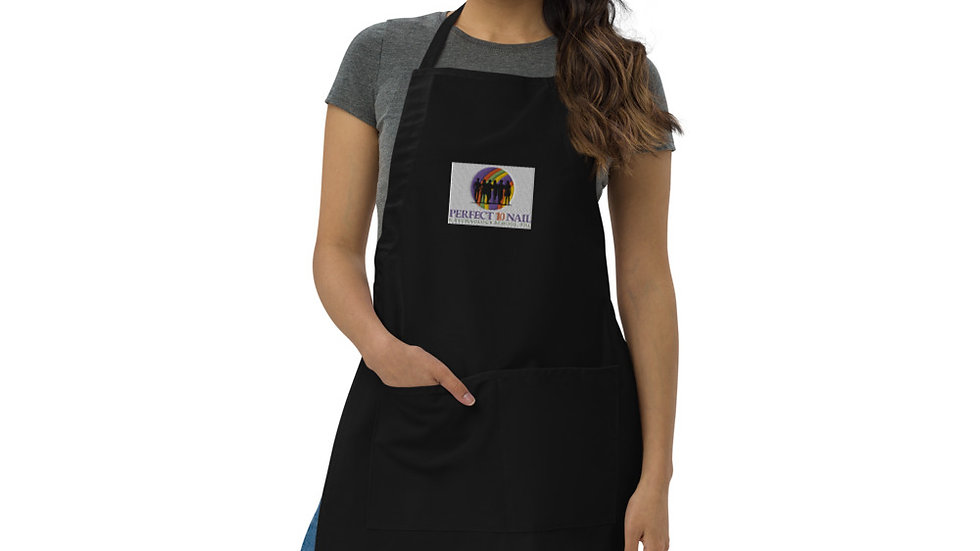Embroidered Apron/Smock