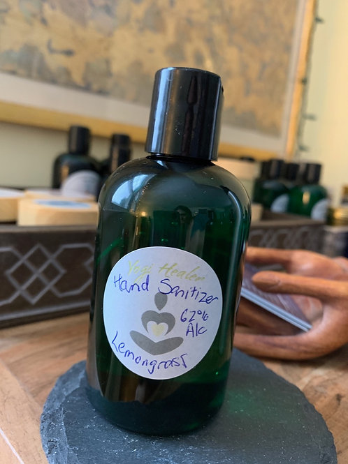 Hand Sanitizer 62% alcohol with essential oils