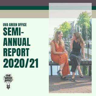uva green office SEMI-annual report 2020