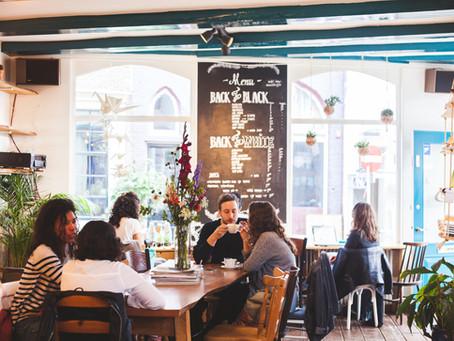 Fair coffee in Amsterdam