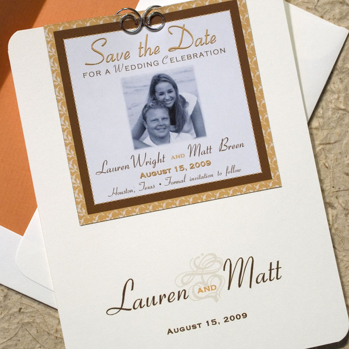 Save the Date Magnet Wedding