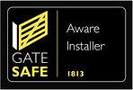 Gate safe logo company 1813 Doncaster Al