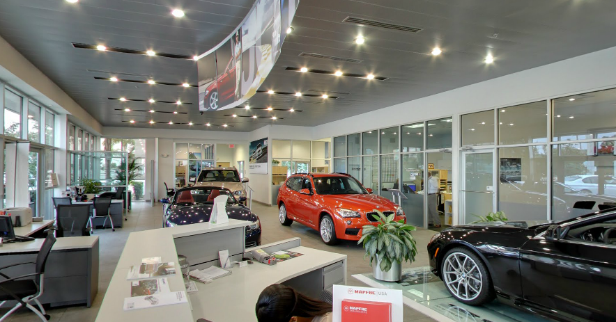 BMW Orlando Showroom
