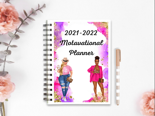 January 2021-December 2022 motivational planners