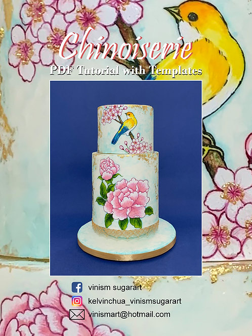 Chinoiserie - PDF Tutorial with Templates