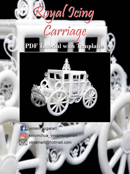 Royal Icing Carriage - PDF Tutorial with Templates