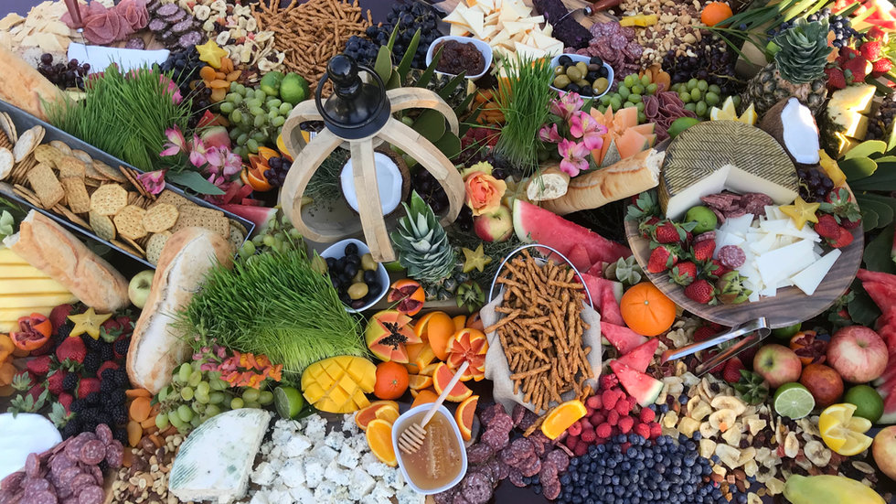 Variety Grazing Table