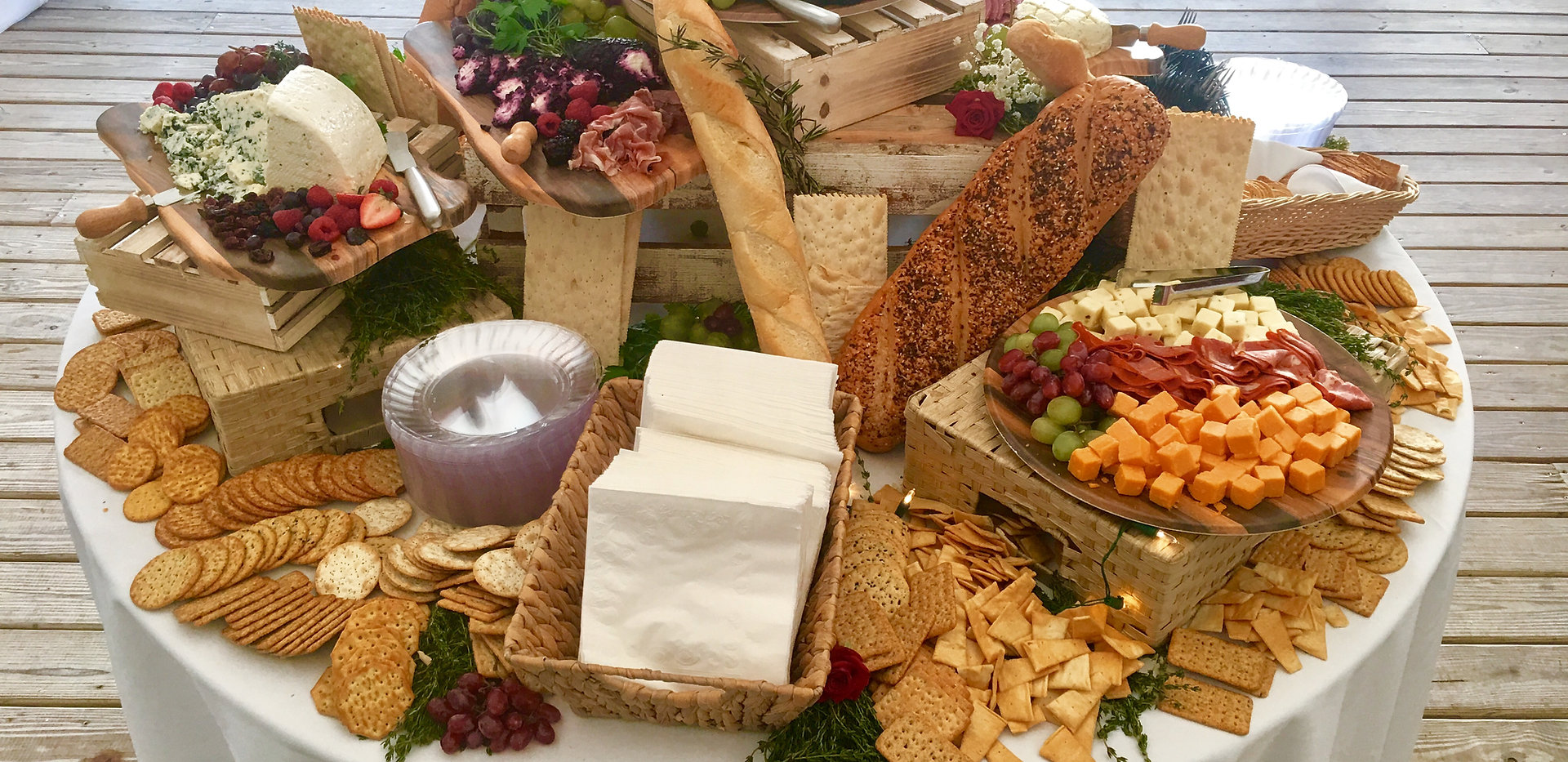 Cheese & Cracker Table