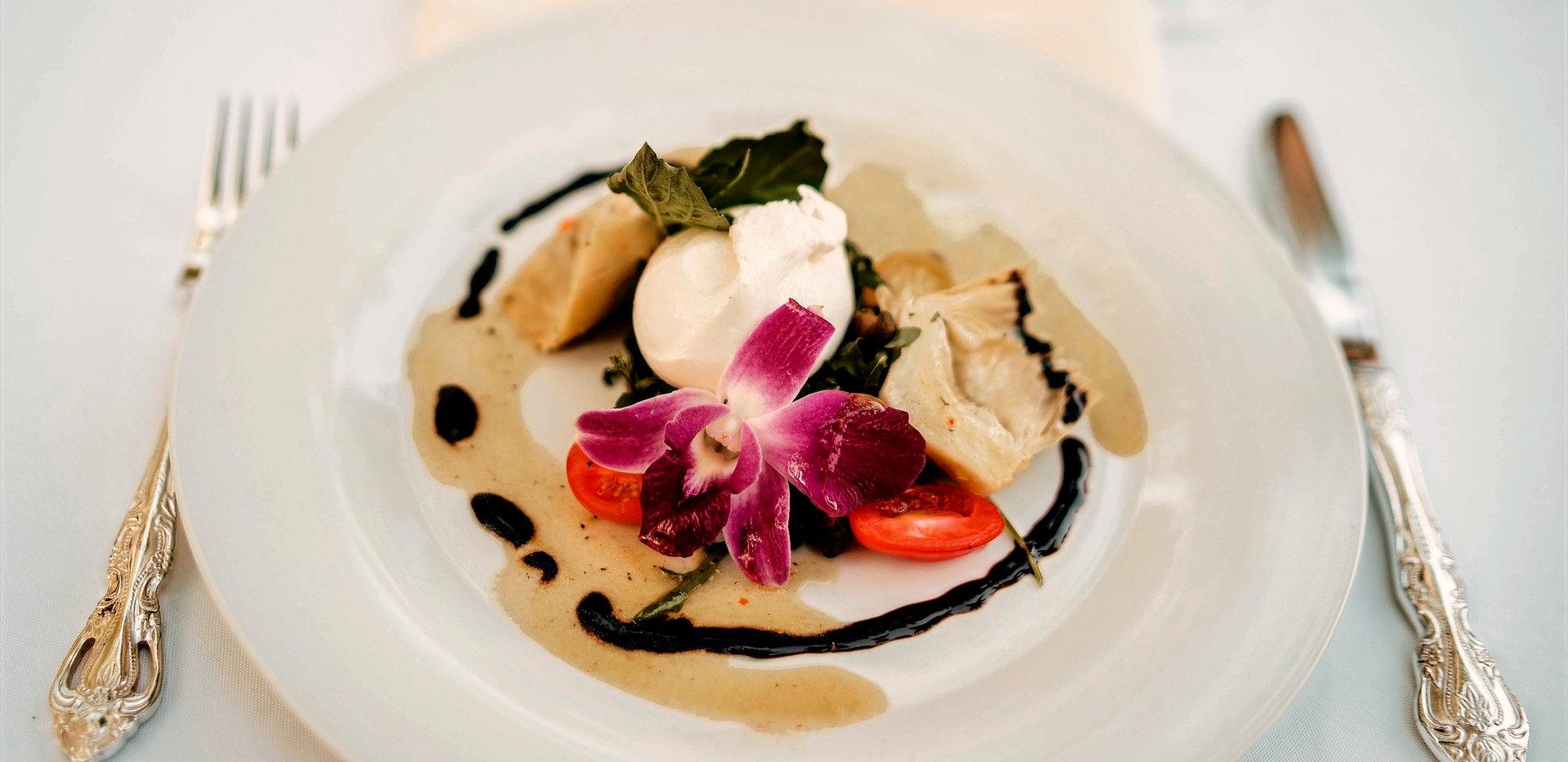 Orchid Burrata Salad