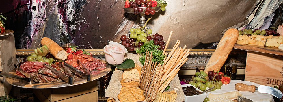 Cheese & Charcuterie Table
