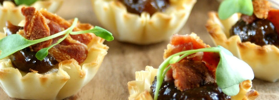 Baked Brie Pastry Puffs