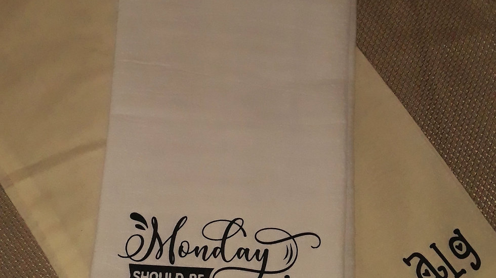 Monday Should Be Optional Towel