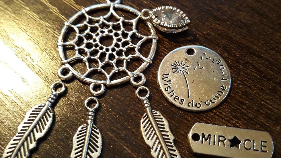 Dream Catcher Keychain Wristlet