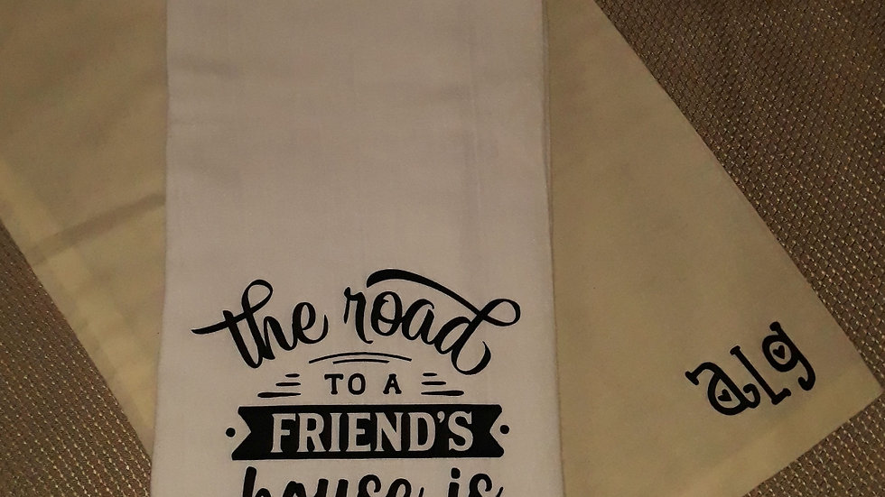 The Road to a Friends Towel