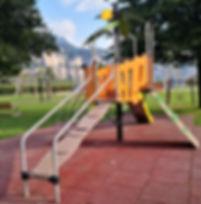 parco giochi,  gioco inclusivo, gioco a tema proludic