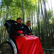 フィンランド留学生「日本文化を体験する京都大阪お正月ツアー」